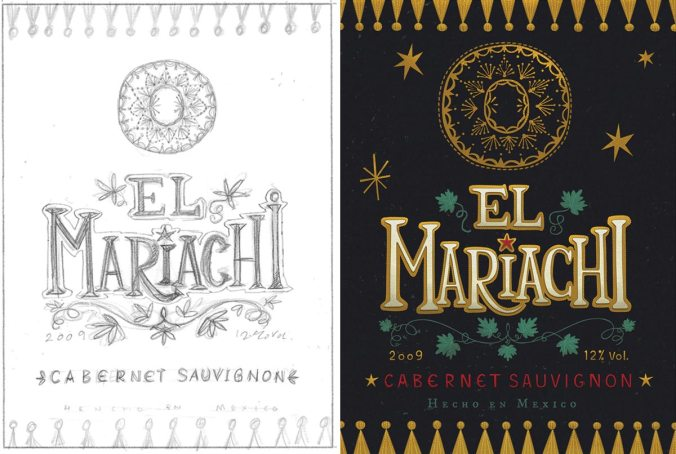 el-mariachi-labels