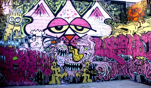 Street art cap i londres blog de sarins for Arte colectivo mural