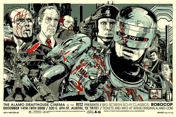 Robocop by Tyler Stout (Mondo)